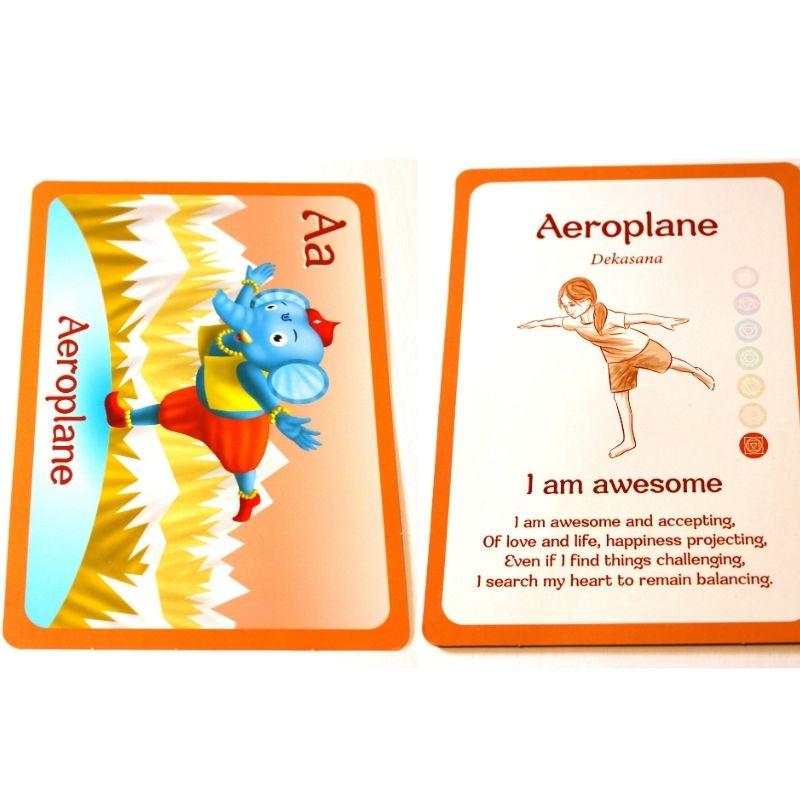 The Jai Jais Yoga and Mindfulness Cards