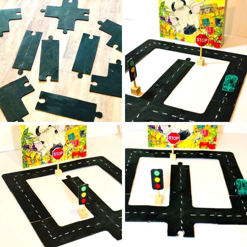 Road Puzzles for preschoolers