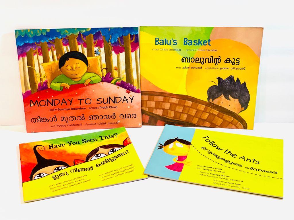 Malayalam Bilingual Book Bundle