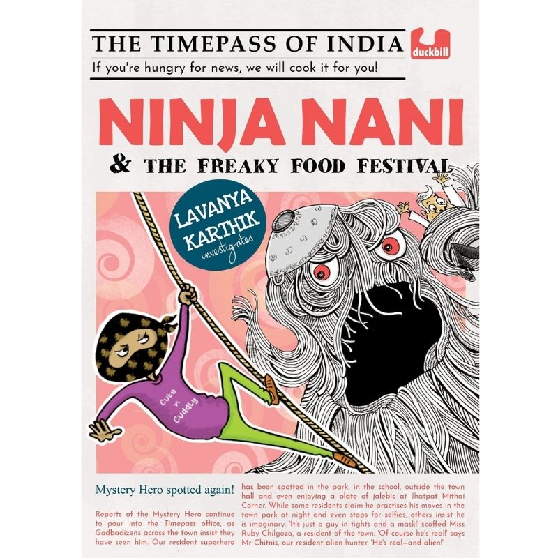 Ninja Nani and the Freaky Food Festival