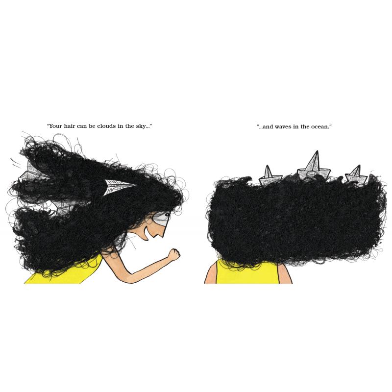 Minu And Her Hair (English)