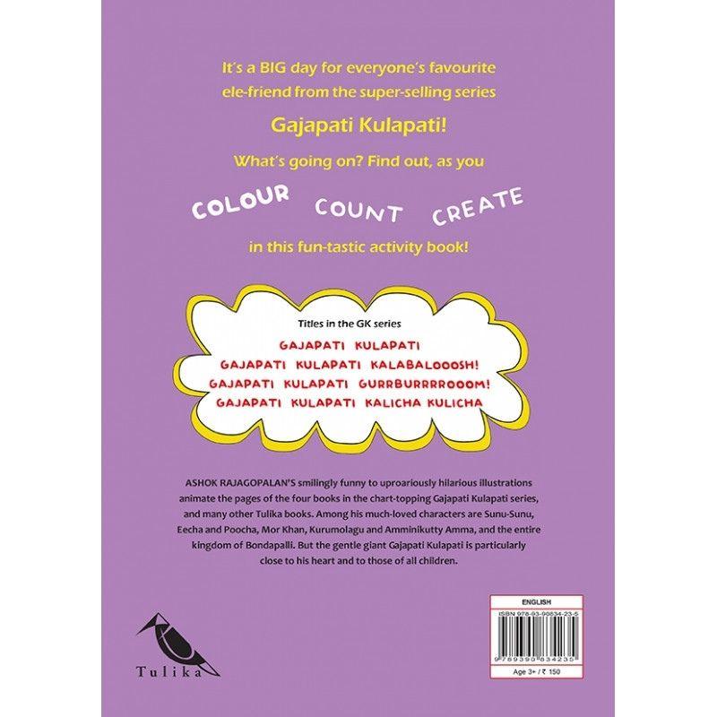 Gajapati Kulapati's Big Day - Colour, Count, Create