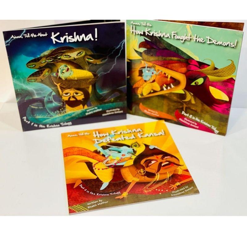 The Complete Krishna Trilogy (Amma Tell Me Series)