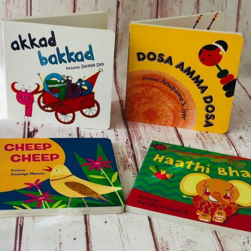 Board Book Bundle from Tulika!