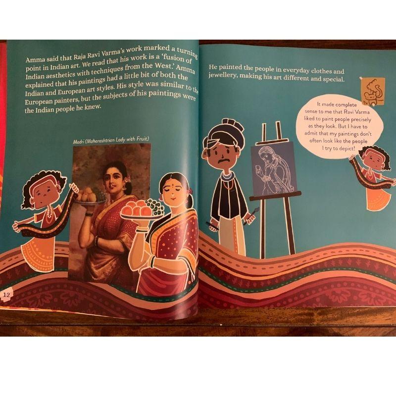 Prince with a Paint Brush -The Story of Raja Ravi Varma