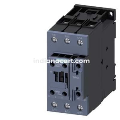Siemens Screw Terminal Contactor 3RT20371AL20, 1No+1Nc