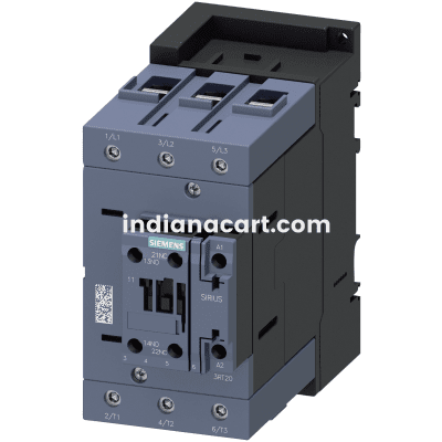 Siemens contactor 3RT20461KB40, 1NO+1NC