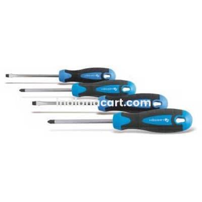 HOGERT, HT1S094, 4-piece screwdriver set, S2 steel