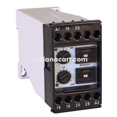 B1DCA-X, Cyclic ON-OFF Adjustable timer