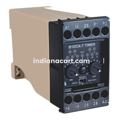B1DCA-T, Cyclic ON-OFF Adjustable timer 24VDC