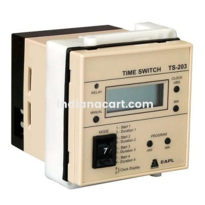 TS-203, Time Switch 4Switching per day 24VDC