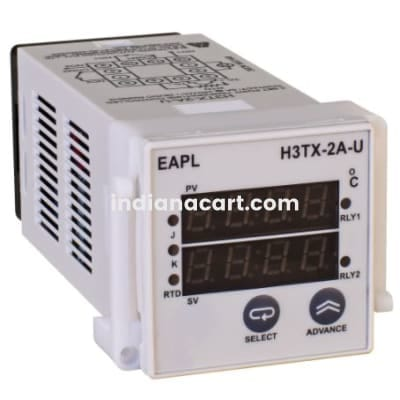 H3TX-2A-U, Temperature Controller 2Display