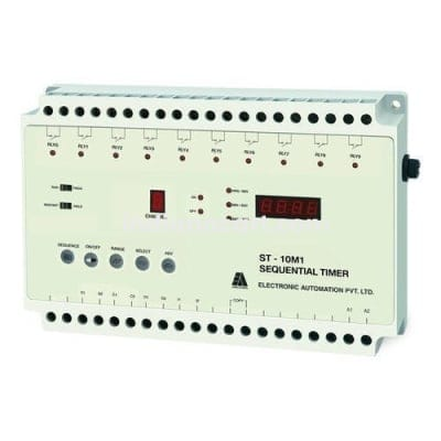 ST10-M1, Sequential 10Channel timer 24VDC