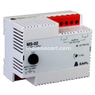 MS-02, Switch Mode Power Supply Input 170V-300VAC Output 1.46A, 24VDC, 35W