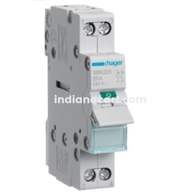 125A DP ISOLATING SWITCHES