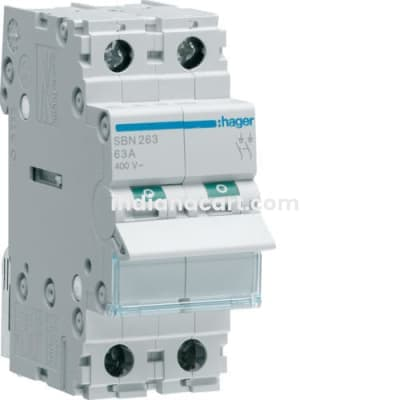 63A FP ISOLATING SWITCHES