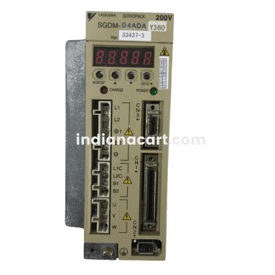 SGDM0-4ADA Yaskawa SERVO AMPLIFIER 1 PHASE 200-230 VAC 0.40 KW