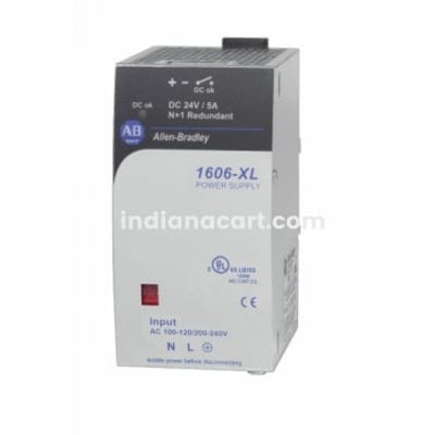 1606-XL120DR ALLEN BRADLEY POWER SUPLLY 100-240 V AC INPUT 50/60 HZ 120W