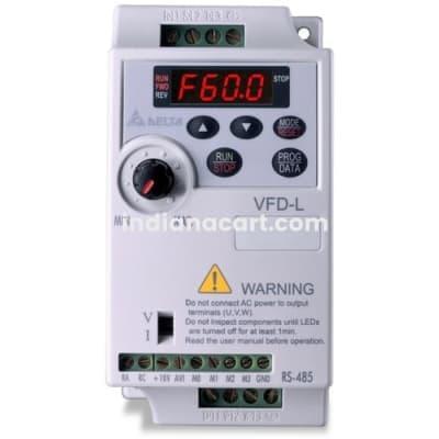 VFD004L21A DELTA DRIVE 0.4KW, 230V,  1/3PH