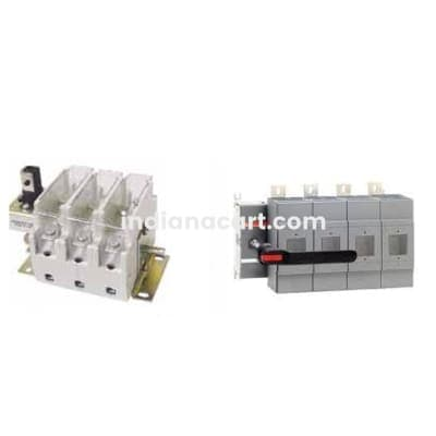 400A OESA/OS switch disconnector fuse, BS-type OS400B03N3P ORDERING NO:  1SYN022753R9160 ABB