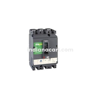 125A , 3 POLE / 25kA MCCB- EasyPact CVS LV5 SERIES , SCHNEIDER