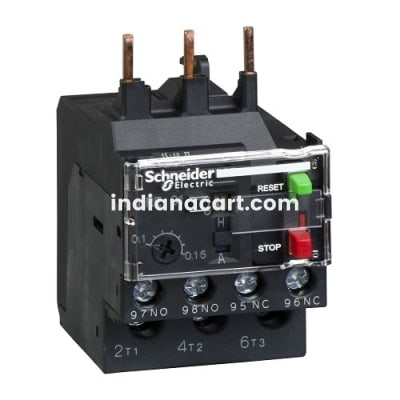 LRE 0.4...0.63/ WITH Cont. E06...E38 /CAT NO. LRE04/ THERMAL OVERLOAD RELAY , SCHNEIDER
