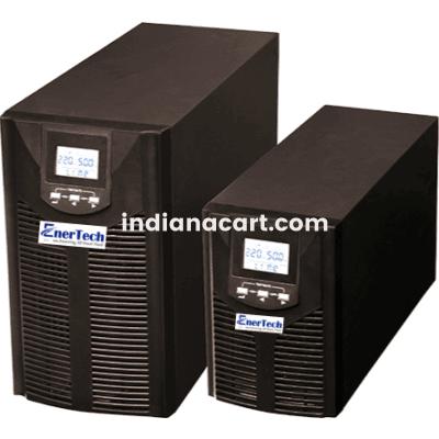 EnerTech Make IGBT based 5KVA Single Phase Online UPS With With inbuild Isolation Transformer