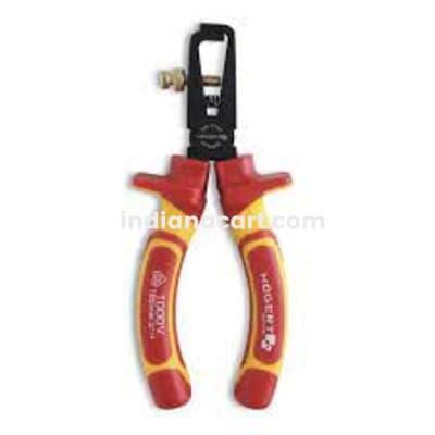 HOGERT, HT1P931, Insulated wire stripper pliers 160 mm, VDE, 1000 V