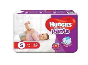 Huggies Wonder Pants Small Diapers