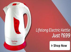 Lifelong Electric Kettle2 TeaTime 1 L