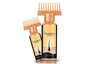 Indulekha Bringha Hair Oil Selfie Bottle