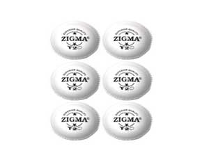 ZIGMA Cricket T20 Ball Pack of 6