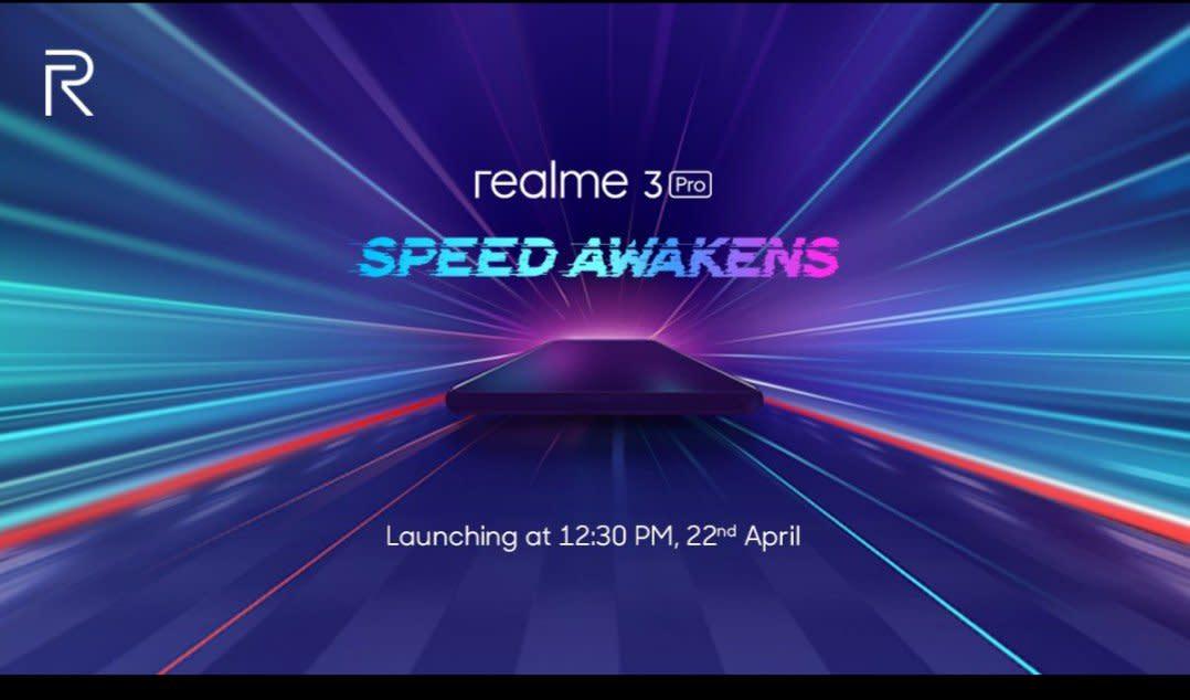 Realme 3 Pro Launch Date.