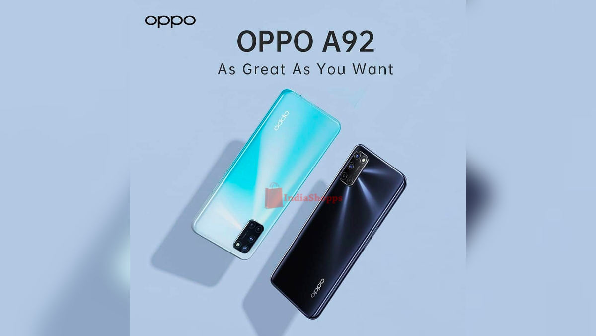 Exclusive Oppo A92 renders reveal quad camera setup and ...