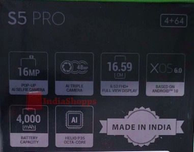 Infinix S5 Pro Specs