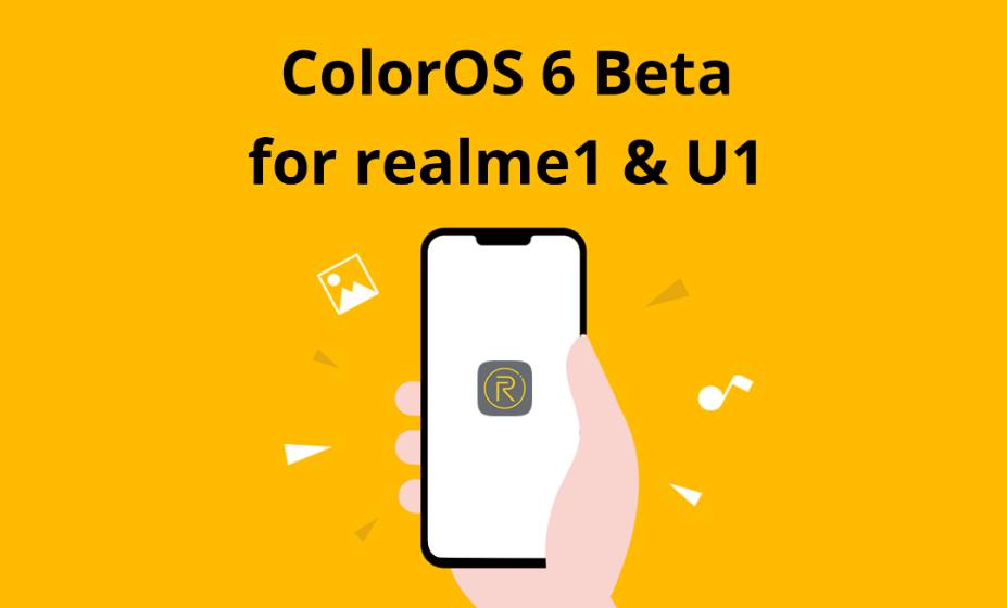 colorOS 6 Beta for realme1 U1