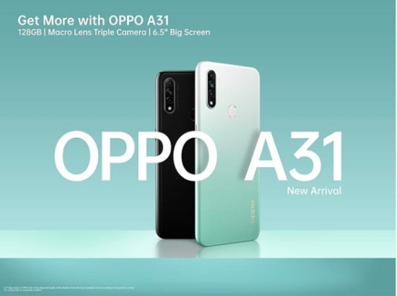 OPPO A31 Indonesia Poster