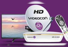 Videocon d2h Plans and Packages