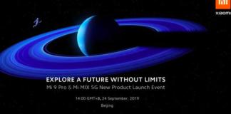 Mi MIX Alpha, Mi 9 Pro launch