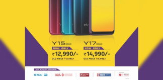 Vivo Y17 Y15 Price Cut