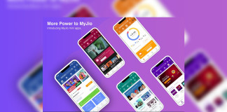 My Jio Mini Apps Feature