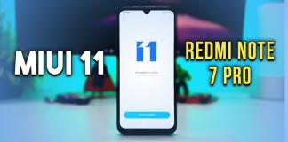 Redmi Note 7 Pro MIUI 11 update