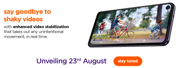 Motorola One Action August 23 Flipkart India