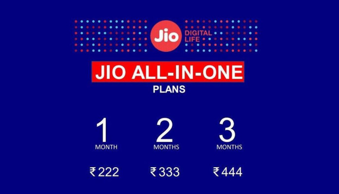 jio all-in-one plans