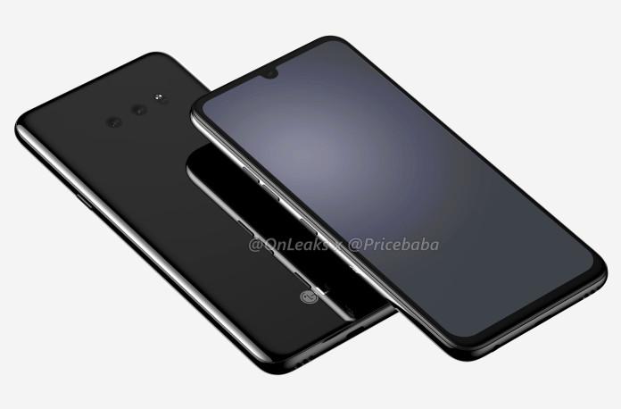 LG-G8X image render