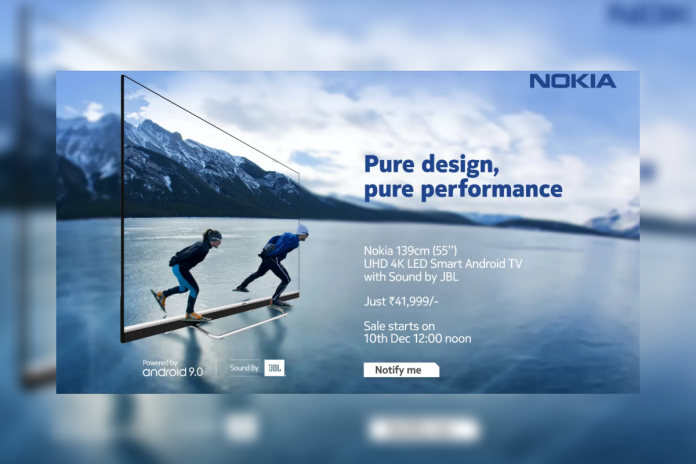Nokia smart tv launched