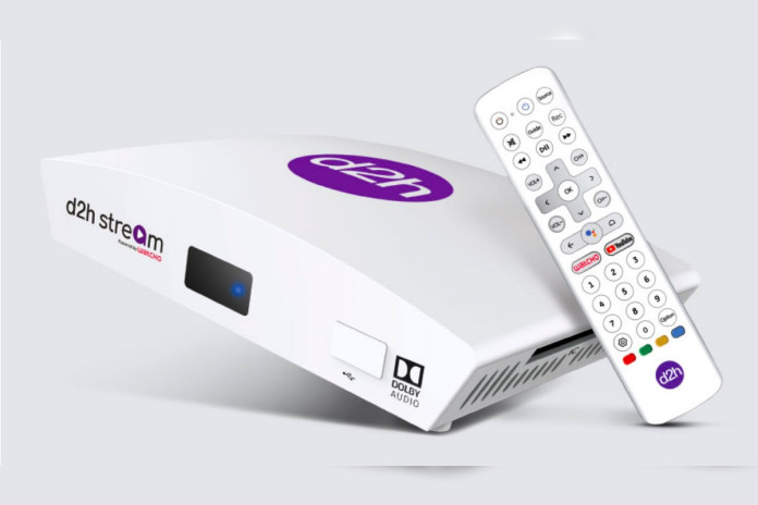 d2h Stream Android TV-based