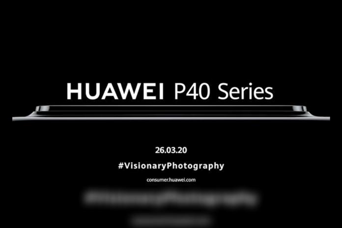 Huawei P40 Series Launch