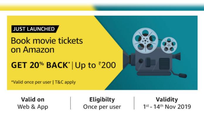 Amazon India BookMyShow partnership