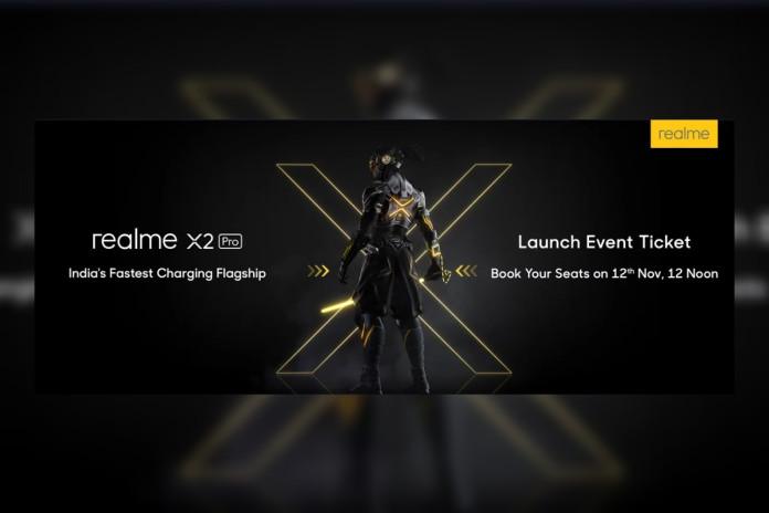 realme x2 pro launch event
